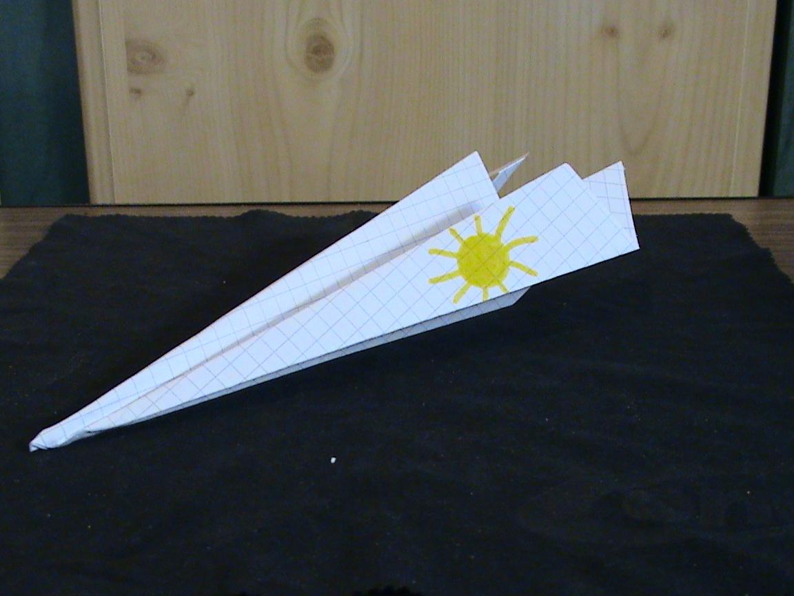 Marias Papierflieger